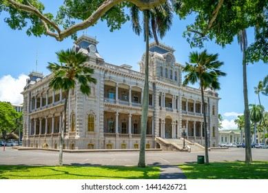 Iolani Palace in Honolulu, Hawaii, US