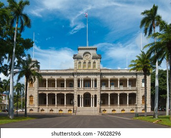 Iolani Palace. The only royal palace in the United States.