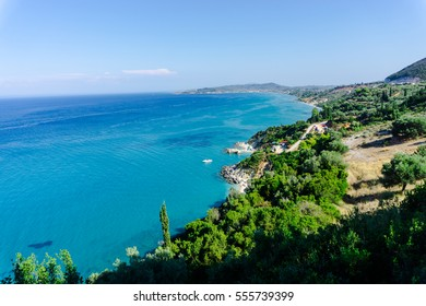 Ionian sea coastline