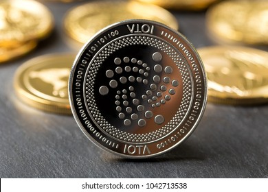 iota crypto coin front of other crypro coins