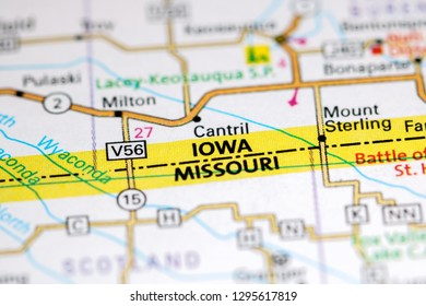 Cantril Iowa Map.Iowa Map Stock Photos Images Photography Shutterstock