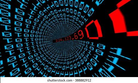 IP address data tunnel