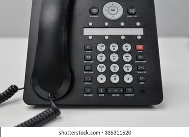 IP Phone panel on the table