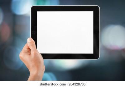 Ipad, Digital Tablet, Human Hand.