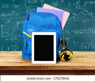Ipad, Education, Backpack.