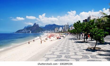 Ipanema beach. Rio de Janeiro