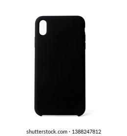 iPhone X case. Novosibirsk, Russia - April 20, 2019