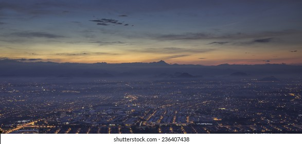 Ipoh city sunrise view
