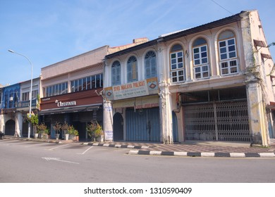 Ipoh Perak, Malaysia 2 Feb 2019 : Calm and beautiful morning in part of heritage and old city of Ipoh, In the state of Perak.