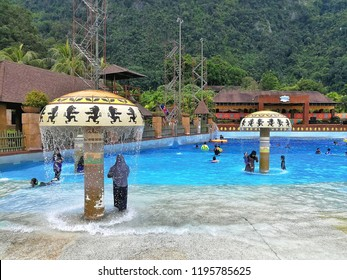 Ipoh, Perak :October 04, 2018 - The Lost World of Tambun located in Ipoh, Perak is Malaysia's premiere multi-themed action water park and adventure family holiday destination