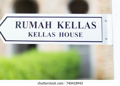 IPOH,PERAK-JUNE 13 2017:The unfinished Kelli's Castle is one of attractive destination in Ipoh