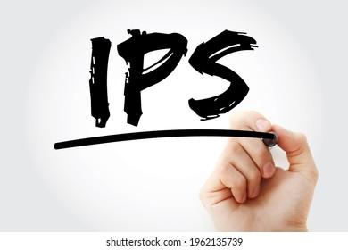 IPS - Akronym zur Verhinderung von Eindringlingen mit Marker, Hintergrund des Technologiekonzepts