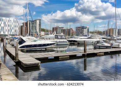 Ipswich Marina in Ipswich,UK