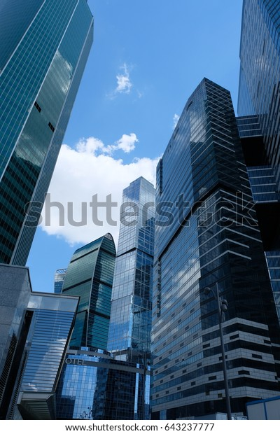 IQ-quarter towers of Moscow International Business Center - Moscow, Russia