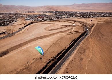 iquique paraglider / atacama paraglider/ iquique paraglider