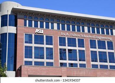 Ira A Fulton Schools of Engineering at ASU Arizona State University Tempe Arizona 3/16/19
