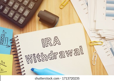 IRA Withdrawal is shown on the conceptual photo