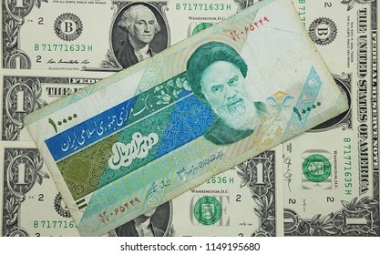 Iran Riyal USA Dollar