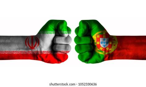 Iran vs Portugal