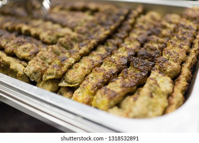 Iranian Kebab ready for eat