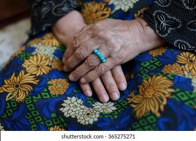 Iranian senior woman