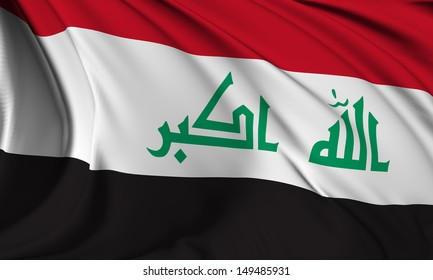 Iraq flag HI-RES collection
