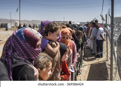 IRAQ / Sulaymaniyah / Arbat Camp 26 June 2015. Arbat refugee camp. Expect to assist refugees during