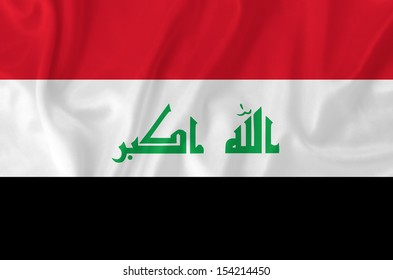 Iraq waving flag
