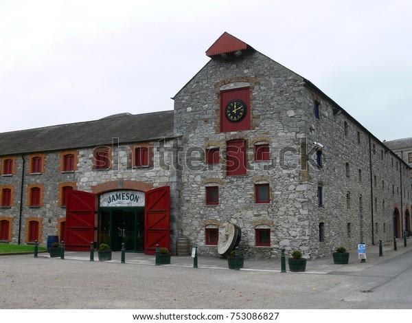 IRELAND, CORK, MIDLETON - SEPTEMBER 30, 2008: Building of the  Jameson Distillery Midleton