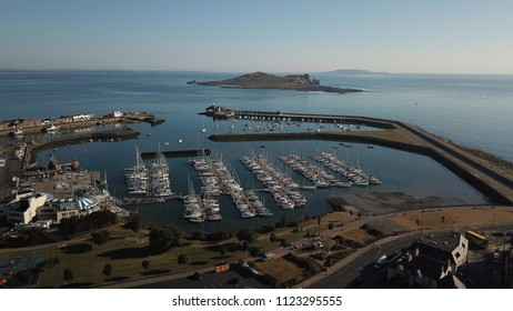 Ireland, Dublin, Howth 28 th June 2018 : Yachting in Howth harbor