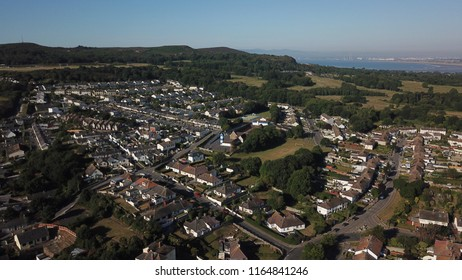 Ireland, Dublin, Howth 28-th June 2018 : Aerial view of Howth!