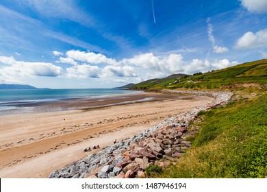 Ireland, Inch point beach in summer