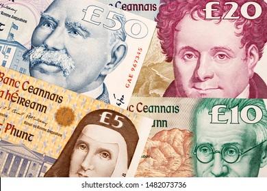 Ireland Republic Pounds a business background