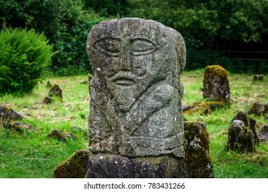 Ireland in Spring, Boa Island statue