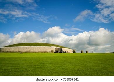 Ireland in spring, Newgrange