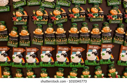 Ireland themed fridge magnet souvenirs