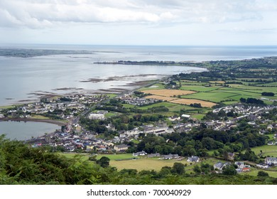 Ireland.Carlingford.View from Cooley mountains.