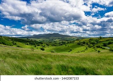 Ireland,view on Cavan Burren Park,Unesco geopark,Irish