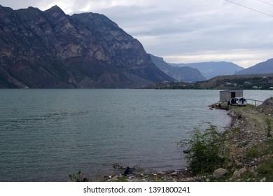 Irganayskoye Reservoir - a reservoir in Dagestan of Russia, formed on the Avarskoy Koysu River as a result of the construction of the Irganayskaya HPP.