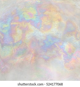 Iridescent metallic texture.