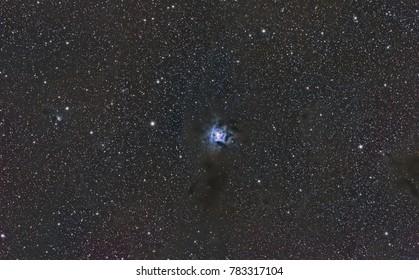 The Iris or Keyhole Nebula