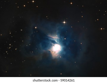 Iris Nebula (NGC 7023 and Caldwell 4)