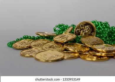 Irish gold coins