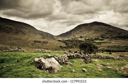 Irish Landscape. County Kerry, Ireland