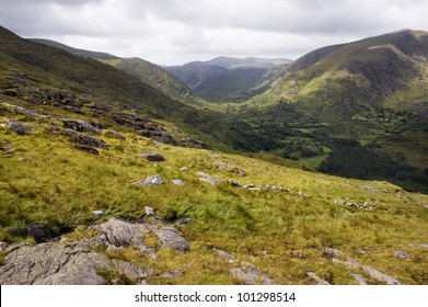 Irish landscape in Killarney National Park
