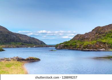 Irish mountains  in Killarney National Park, Co. Kerry - Ireland