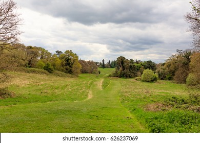 Irish Parkland and Woodland Scene, Belvedere Estate, Co Westmeath