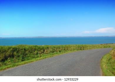 Irish Rural Road in Kerry