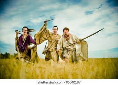 Irish warriors. Historical