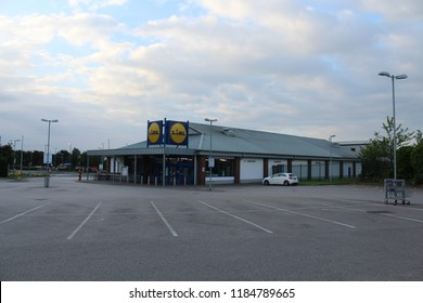 Irlam Salford Greater Manchester England 17th June 2017 Lidl shop